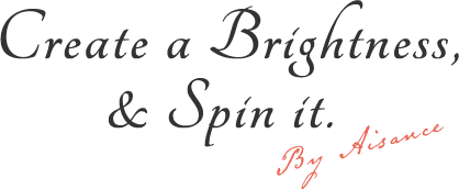 Create a Brightness,& Spin it. By Aisance